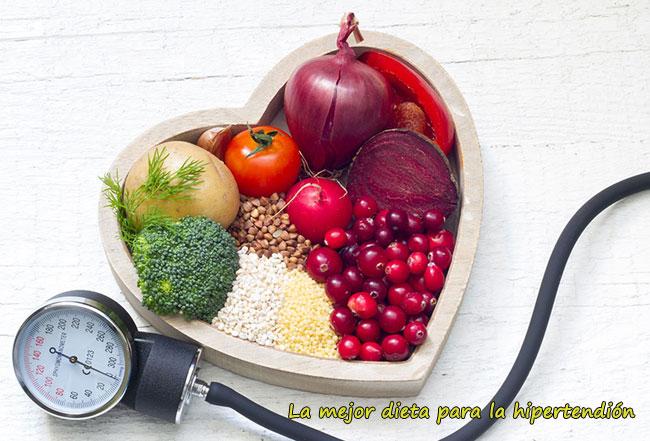 mejor dieta para la hipertension