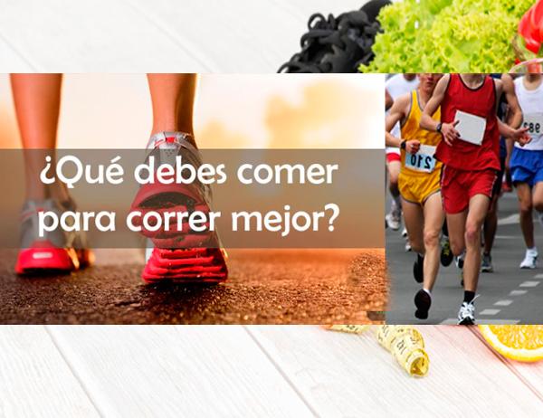dieta para corredores principiantes y de maraton